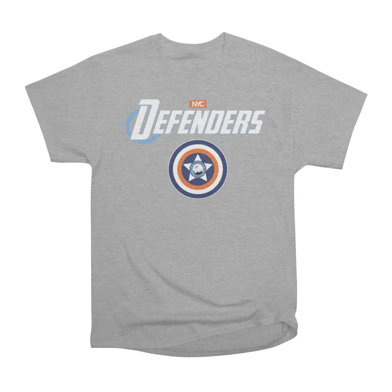 D-FENCE! Women's Heavyweight Unisex T-Shirt by THE DUDES IN BLUE SHOP