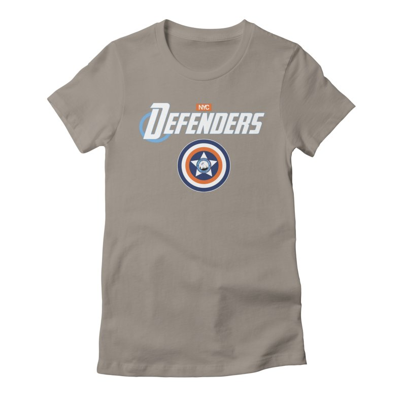 D-FENCE! Women's Fitted T-Shirt by THE DUDES IN BLUE SHOP