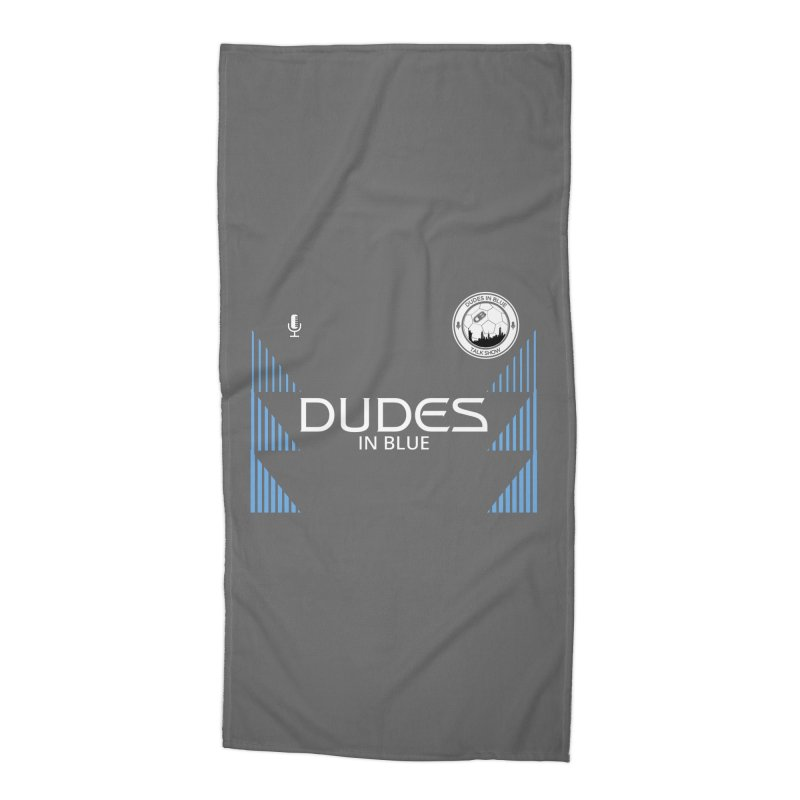 DIB SECONDARY KIT Accessories Beach Towel by THE DUDES IN BLUE SHOP