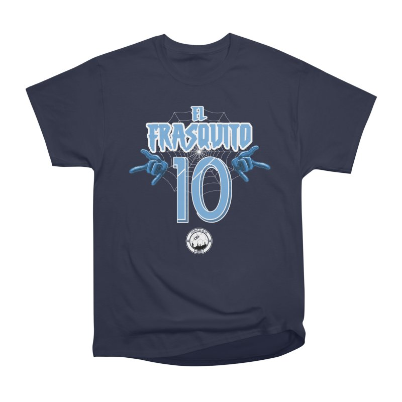 EL FRASQUITO! in Men's Heavyweight T-Shirt Navy by THE DUDES IN BLUE SHOP