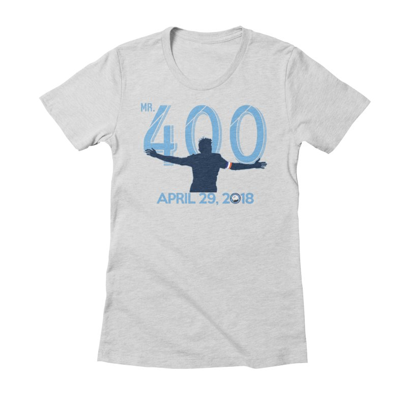 MR. 400! Women's Fitted T-Shirt by THE DUDES IN BLUE SHOP