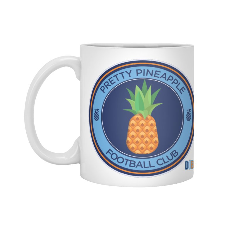 PRETTY PINEAPPLE FC Accessories Mug by THE DUDES IN BLUE SHOP