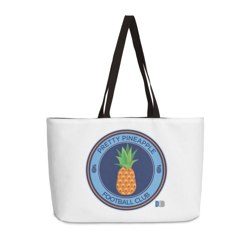 PRETTY PINEAPPLE FC Accessories Bag by THE DUDES IN BLUE SHOP