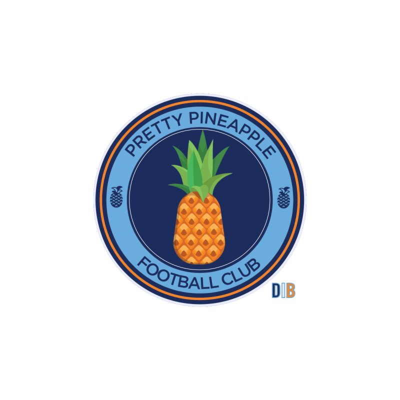 PRETTY PINEAPPLE FC by THE DUDES IN BLUE SHOP