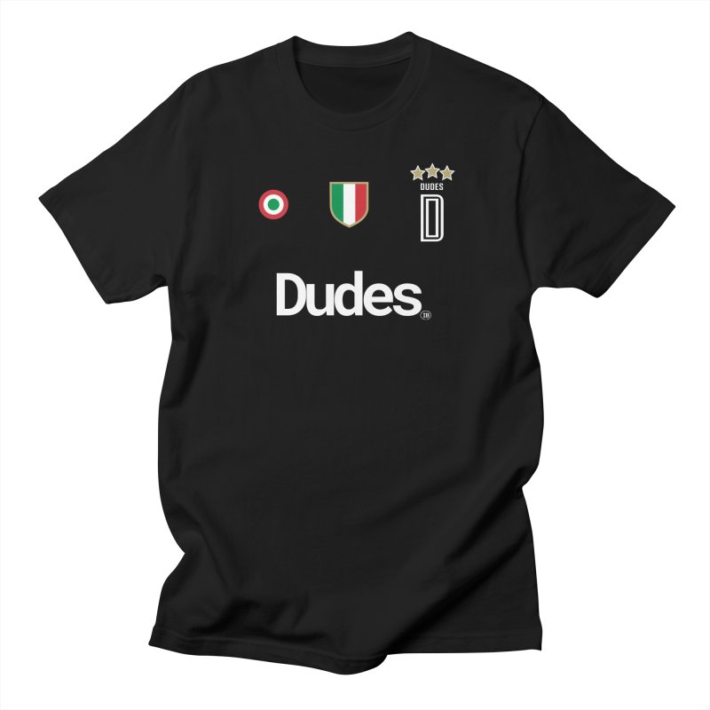 Dude-ventus! in Men's Regular T-Shirt Black by THE DUDES IN BLUE SHOP