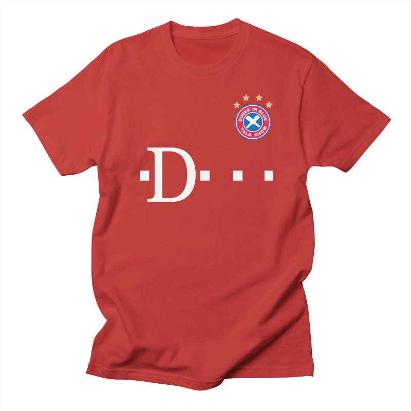 D-MOBILE! RED Men's Regular T-Shirt by THE DUDES IN BLUE SHOP