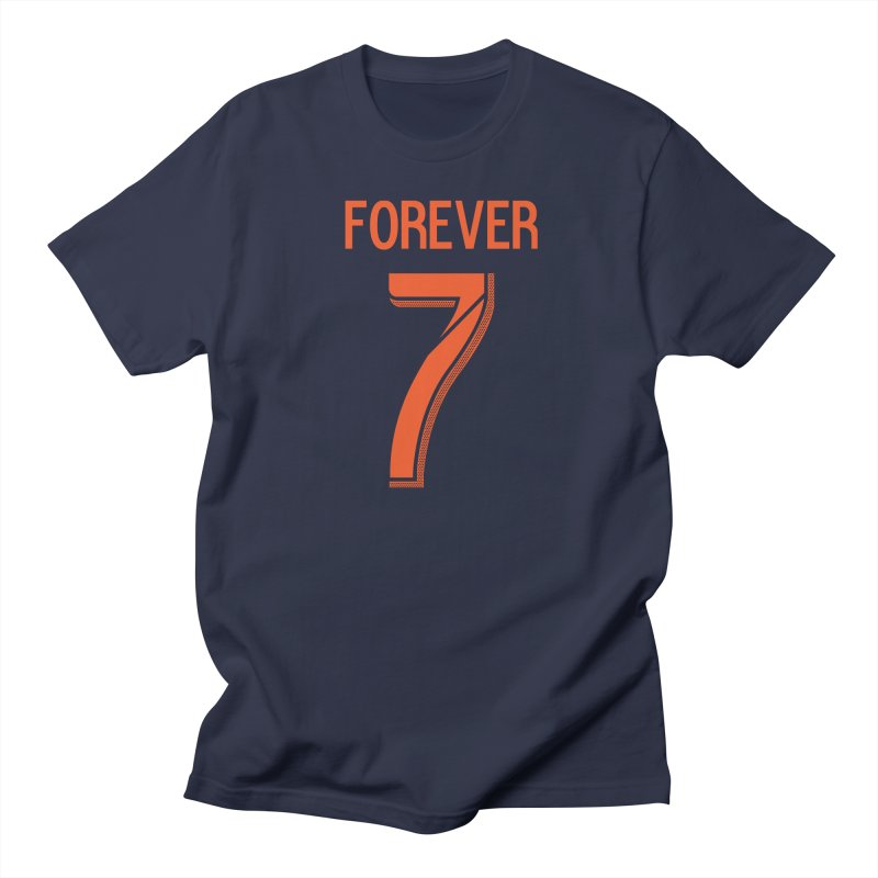 FOREVER SEVEN COLLECTION-SECONDARY 2 in Men's Regular T-Shirt Navy by THE DUDES IN BLUE SHOP