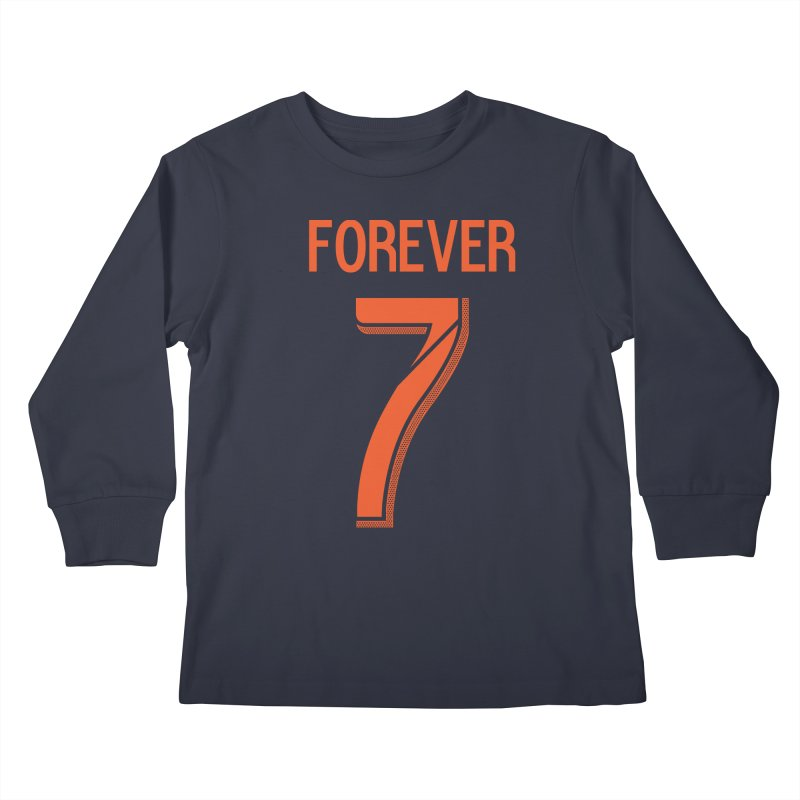 FOREVER SEVEN COLLECTION-SECONDARY 2 Kids Longsleeve T-Shirt by THE DUDES IN BLUE SHOP