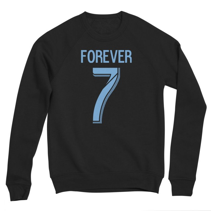 FOREVER SEVEN COLLECTION- SECONDARY 1 Women's Sponge Fleece Sweatshirt by THE DUDES IN BLUE SHOP