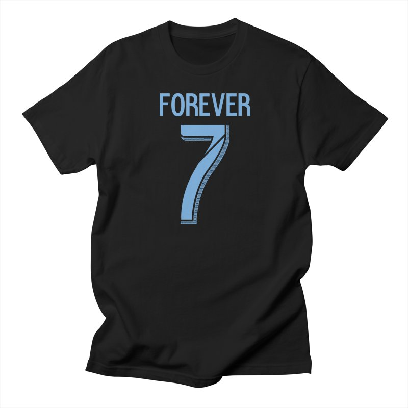 FOREVER SEVEN COLLECTION- SECONDARY 1 in Men's Regular T-Shirt Black by THE DUDES IN BLUE SHOP