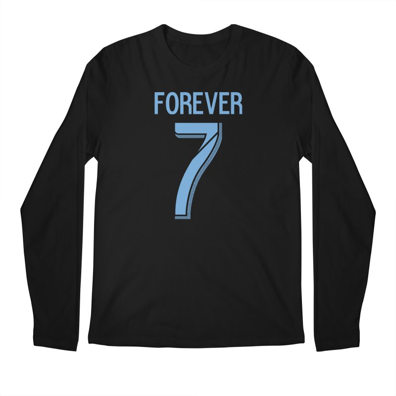 FOREVER SEVEN COLLECTION- SECONDARY 1 Men's Regular Longsleeve T-Shirt by THE DUDES IN BLUE SHOP