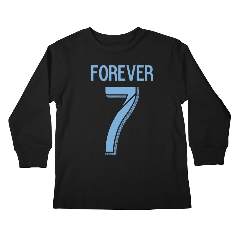 FOREVER SEVEN COLLECTION- SECONDARY 1 Kids Longsleeve T-Shirt by THE DUDES IN BLUE SHOP