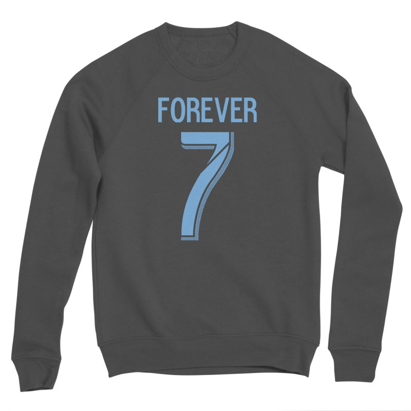 FOREVER SEVEN COLLECTION- SECONDARY 3 Men's Sponge Fleece Sweatshirt by THE DUDES IN BLUE SHOP
