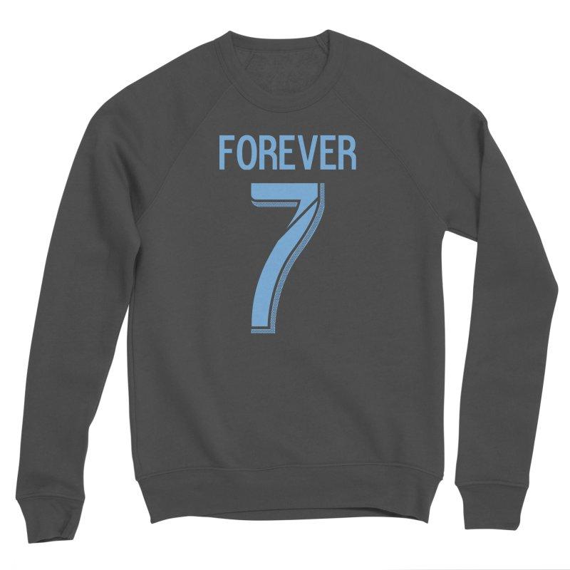 FOREVER SEVEN COLLECTION- SECONDARY 3 Women's Sponge Fleece Sweatshirt by THE DUDES IN BLUE SHOP