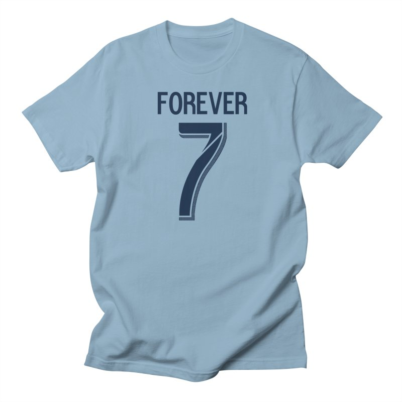 FOREVER SEVEN COLLECTION- PRIMARY in Men's Regular T-Shirt Light Blue by THE DUDES IN BLUE SHOP