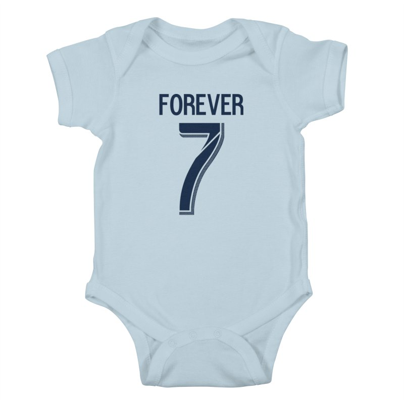 FOREVER SEVEN COLLECTION- PRIMARY Kids Baby Bodysuit by THE DUDES IN BLUE SHOP