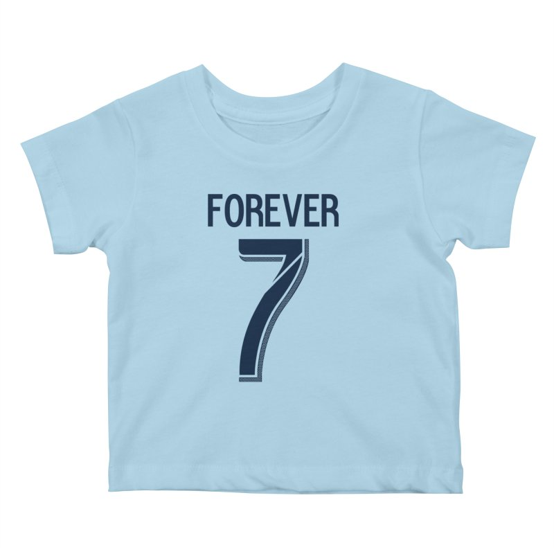 FOREVER SEVEN COLLECTION- PRIMARY Kids Baby T-Shirt by THE DUDES IN BLUE SHOP