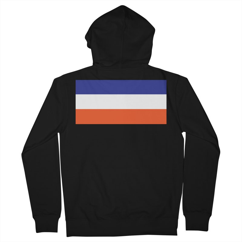 FOREVER SEVEN COLLECTION- THE ARMBAND Women's French Terry Zip-Up Hoody by THE DUDES IN BLUE SHOP
