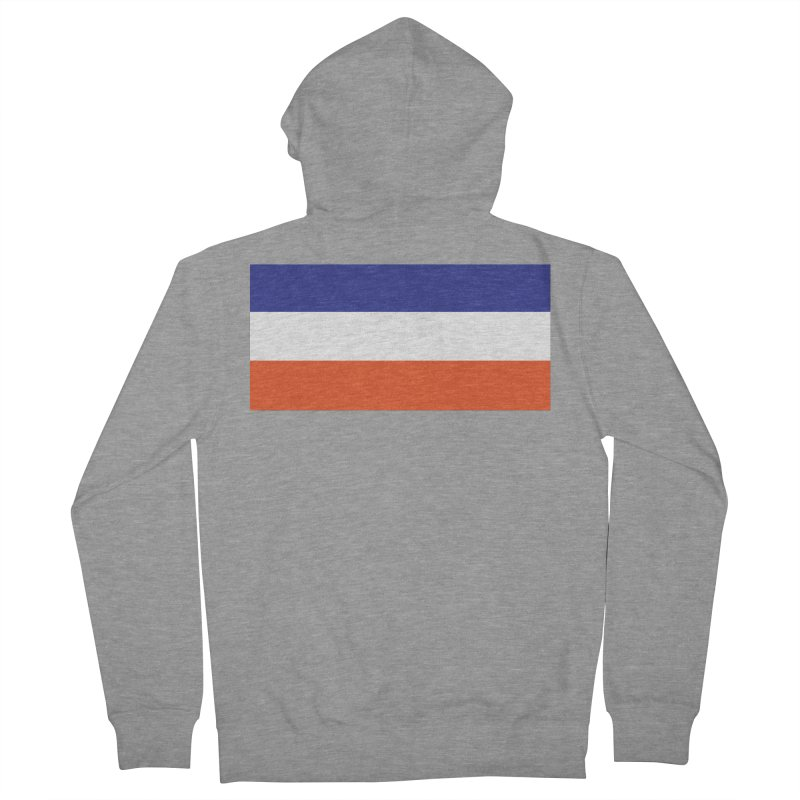 FOREVER SEVEN COLLECTION- THE ARMBAND Men's French Terry Zip-Up Hoody by THE DUDES IN BLUE SHOP