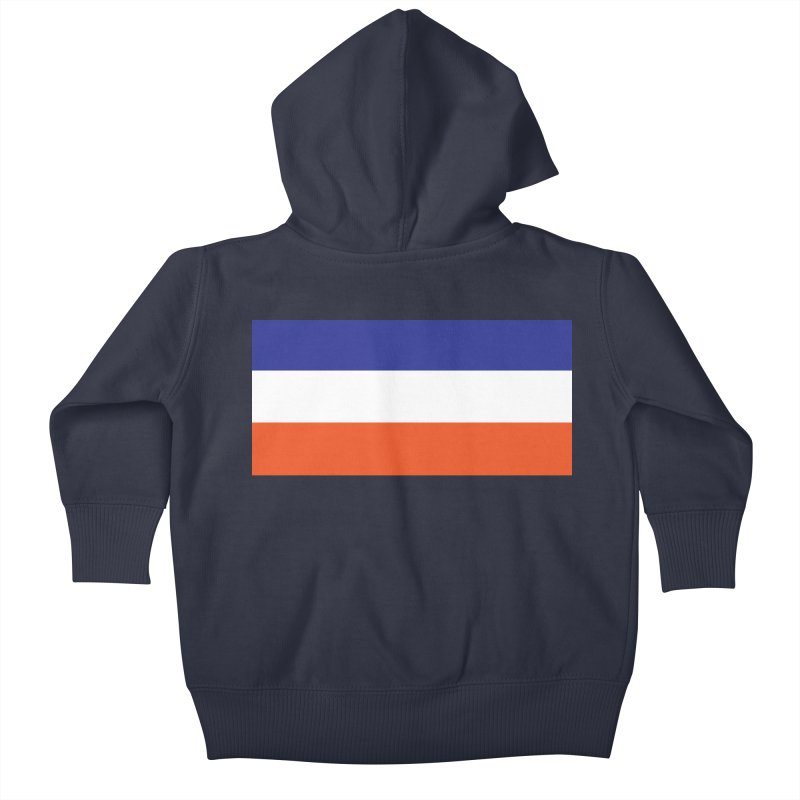 FOREVER SEVEN COLLECTION- THE ARMBAND Kids Baby Zip-Up Hoody by THE DUDES IN BLUE SHOP