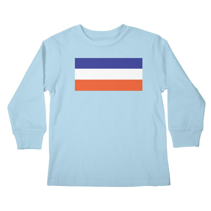 FOREVER SEVEN COLLECTION- THE ARMBAND Kids Longsleeve T-Shirt by THE DUDES IN BLUE SHOP