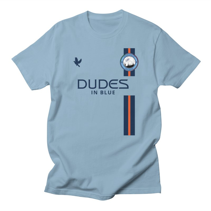 2019 DIB Home Kit in Men's Regular T-Shirt Light Blue by THE DUDES IN BLUE SHOP