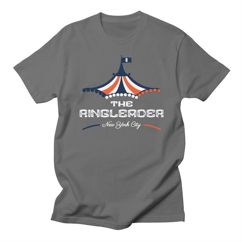 The Ringleader in Men's Regular T-Shirt Asphalt by THE DUDES IN BLUE SHOP