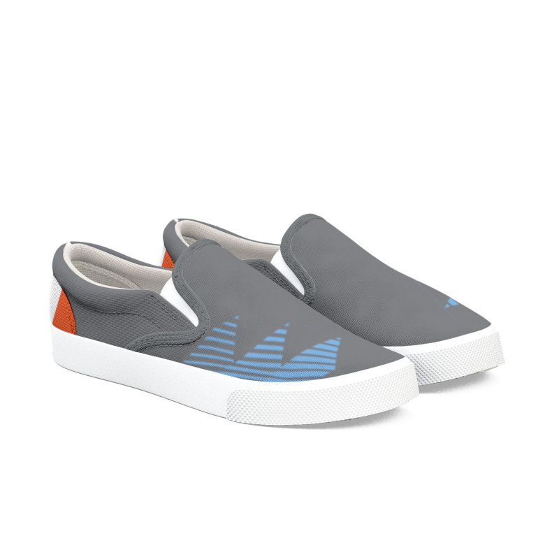 2019 Secondary Kicks Women's Slip-On Shoes by THE DUDES IN BLUE SHOP
