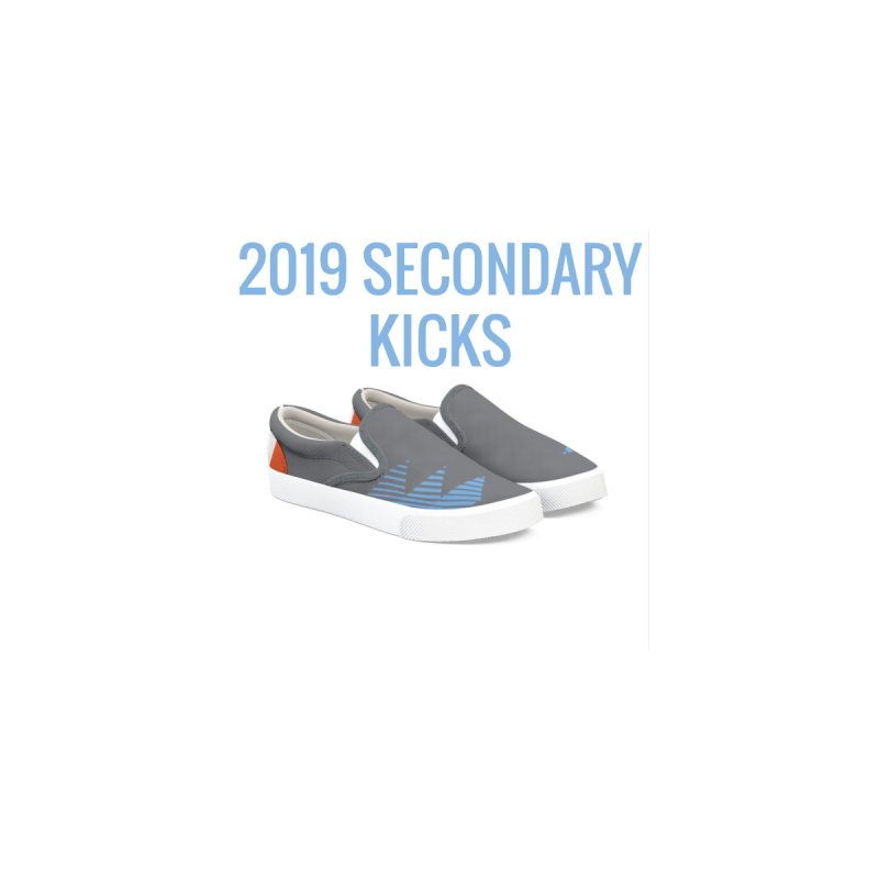 2019 Secondary Kicks Men's Shoes by THE DUDES IN BLUE SHOP