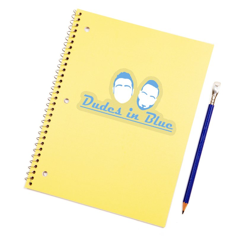 The Dudes! Accessories Sticker by THE DUDES IN BLUE SHOP