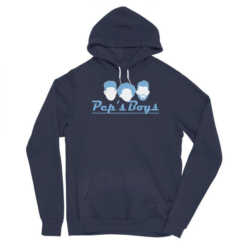 Pep's Boys Women's Sponge Fleece Pullover Hoody by THE DUDES IN BLUE SHOP