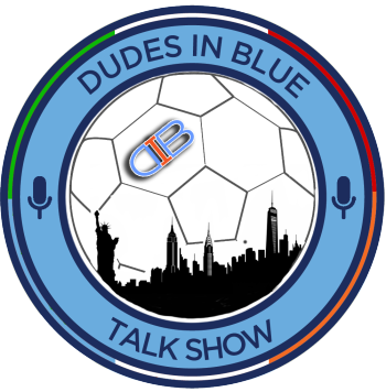 THE DUDES IN BLUE SHOP Logo