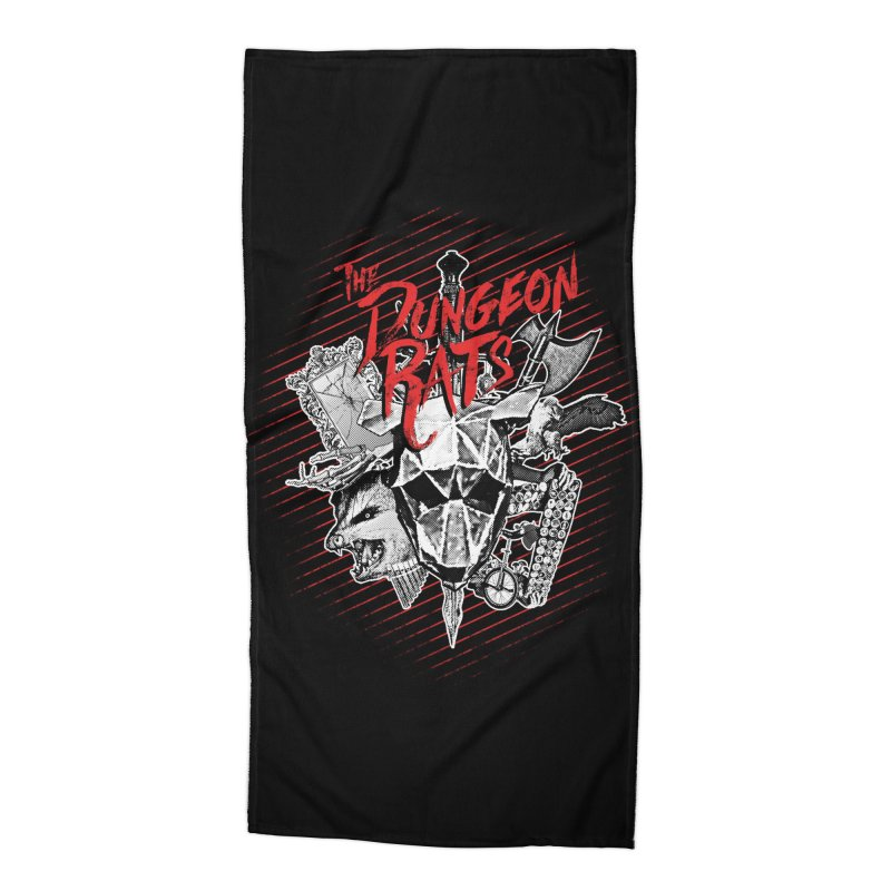 Long Live The Rats Accessories Beach Towel by The Dungeon Rat's Shop