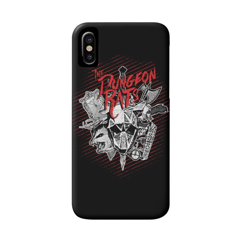 Long Live The Rats Accessories Phone Case by The Dungeon Rat's Shop
