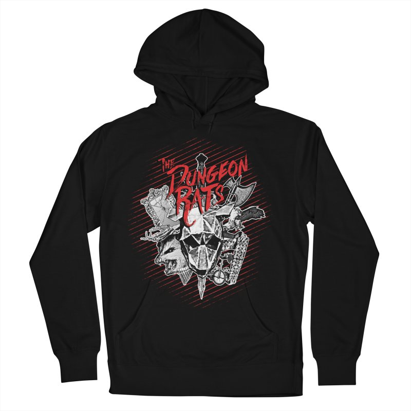 Long Live The Rats Women's French Terry Pullover Hoody by The Dungeon Rat's Shop