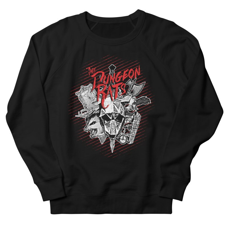 Long Live The Rats Men's French Terry Sweatshirt by The Dungeon Rat's Shop