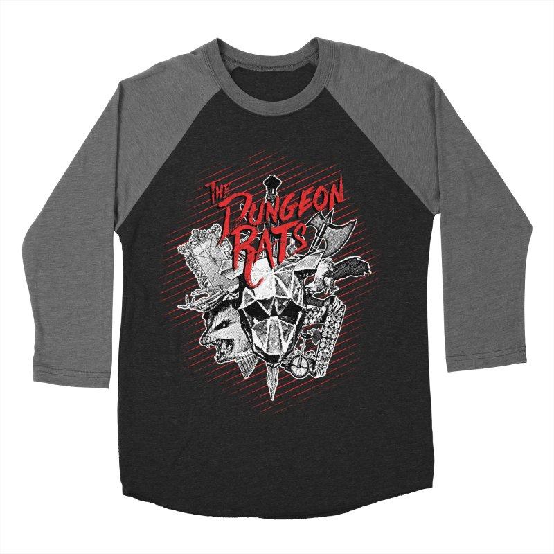 Long Live The Rats Women's Baseball Triblend Longsleeve T-Shirt by The Dungeon Rat's Shop