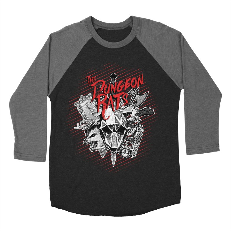 Long Live The Rats Men's Baseball Triblend Longsleeve T-Shirt by The Dungeon Rat's Shop