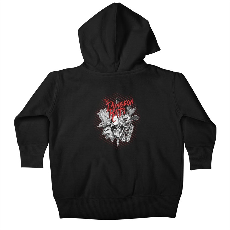 Long Live The Rats Kids Baby Zip-Up Hoody by The Dungeon Rat's Shop