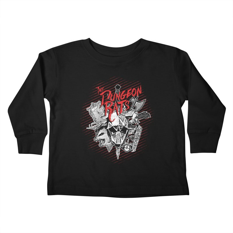 Long Live The Rats Kids Toddler Longsleeve T-Shirt by The Dungeon Rat's Shop