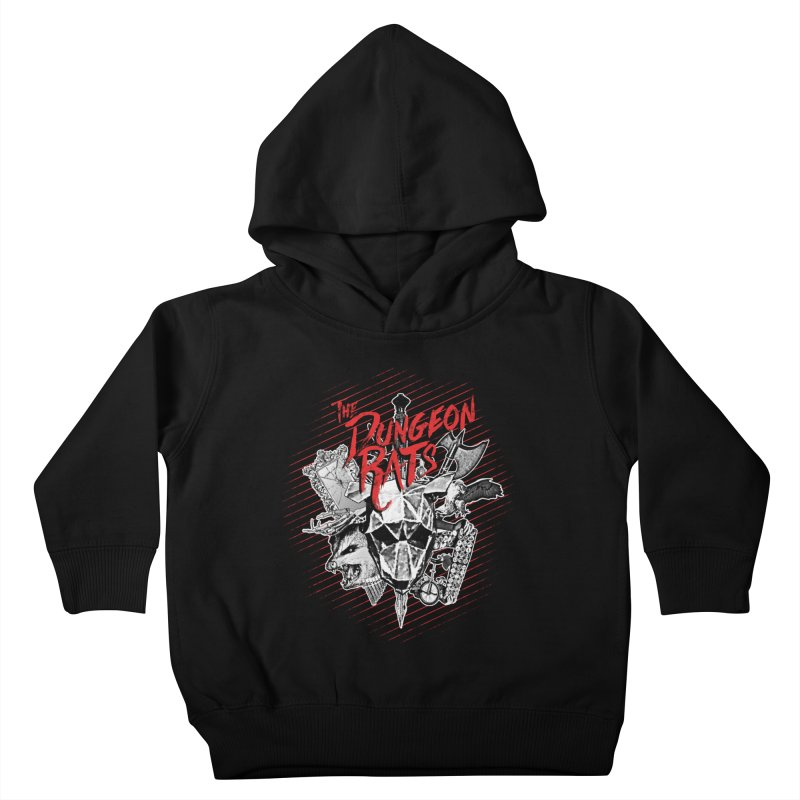 Long Live The Rats Kids Toddler Pullover Hoody by The Dungeon Rat's Shop