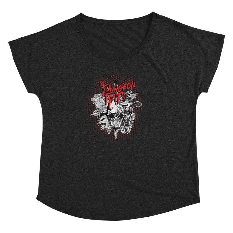 Long Live The Rats Women's Dolman Scoop Neck by The Dungeon Rat's Shop