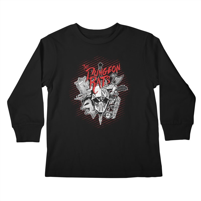 Long Live The Rats Kids Longsleeve T-Shirt by The Dungeon Rat's Shop