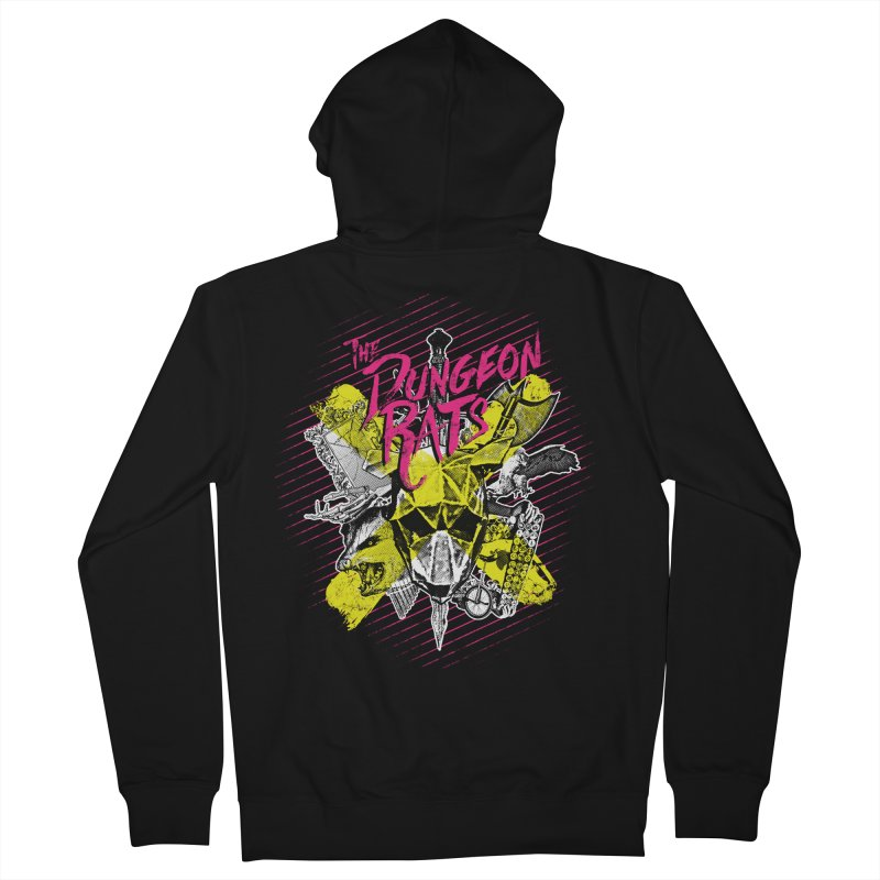 Death To All Rats Women's French Terry Zip-Up Hoody by The Dungeon Rat's Shop