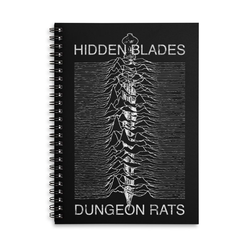Hidden Blades Accessories Notebook by The Dungeon Rat's Shop