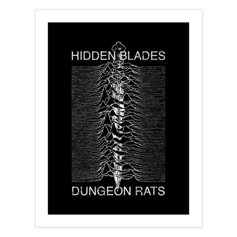 Hidden Blades Home Fine Art Print by The Dungeon Rat's Shop