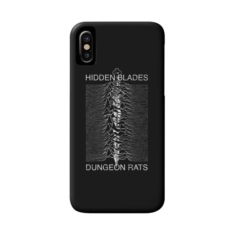 Hidden Blades Accessories Phone Case by The Dungeon Rat's Shop