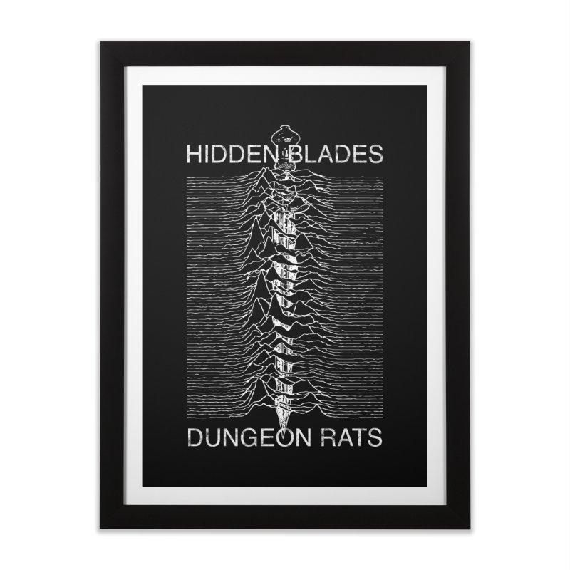 Hidden Blades Home Framed Fine Art Print by The Dungeon Rat's Shop