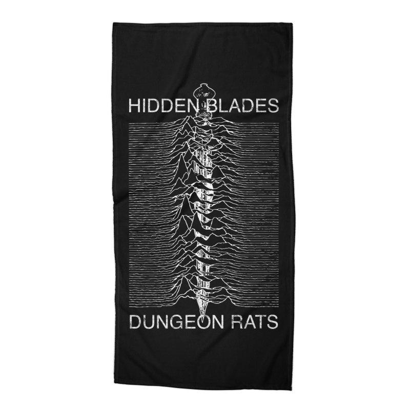 Hidden Blades Accessories Beach Towel by The Dungeon Rat's Shop