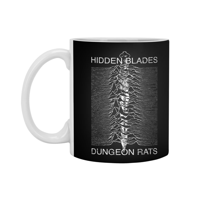 Hidden Blades Accessories Standard Mug by The Dungeon Rat's Shop